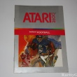 Atari 2600 Game Instructions Manual Realsports Football Sports Game