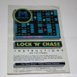 Atari 2600 Game Instructions Manual Lock n Chase M Network