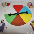 Ten Commandments Bible Game Spinning Wheel