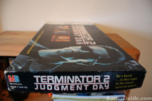 Terminator 2 Board Game Box (Side)