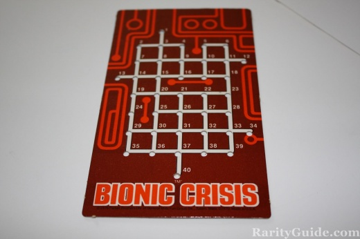 Six Million Dollar Man Bionic Crisis Board Game panel