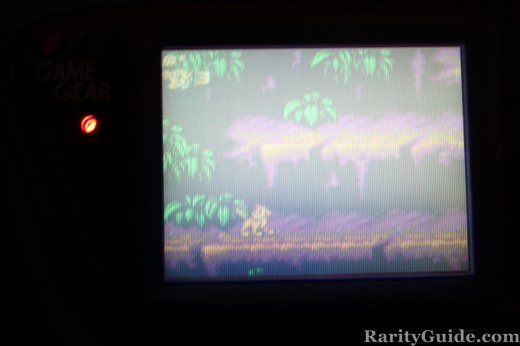 Lion King Screenshot Sega Gamegear