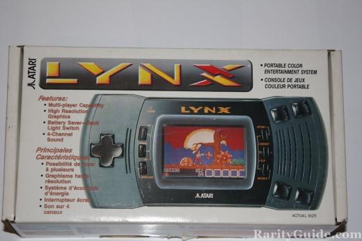 Atari Lynx Portable Entertainment System box