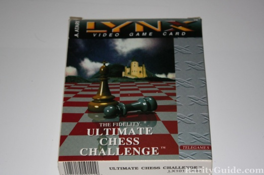 Chess for Atari Lynx Packaging