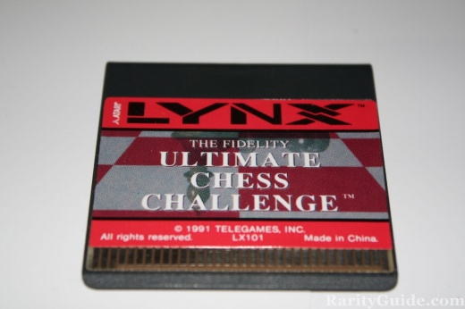 The Fidelity Ultimate Chess Challenge Cart