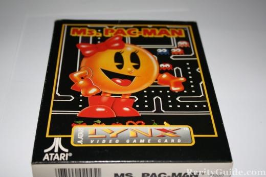 Ms. Pac-Man for the Atari Lynx