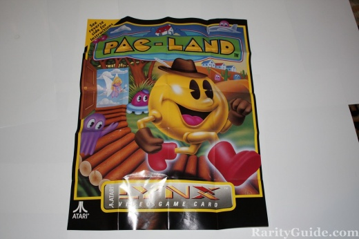 Pac-Land Poster for Atari Lynx