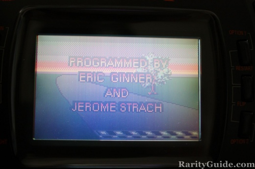 Checkered Flag Programmed by Eric Ginner and Jerome Strach