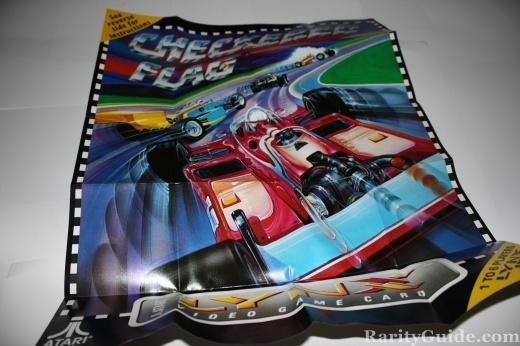 Atari Lynx Checkerd Flag Poster