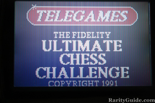 Telegames Ultimate Chess Challenge Screen Shot