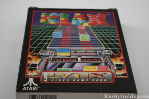 Klax for the Atari Lynx