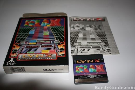 Atari Lynx Klax Complete Game