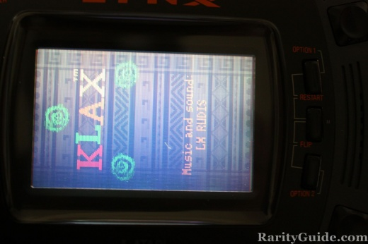 Atari Lynx Klax Screenshot