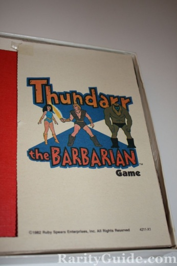 Thundar the Barbarian Board Game Milton Bradley 1982 picture