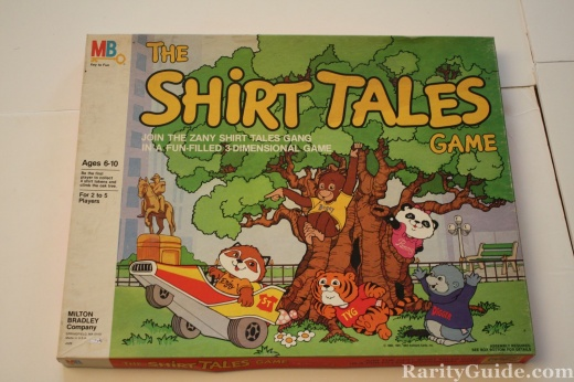 The Shirt Tales Game Milton Bradley 1983