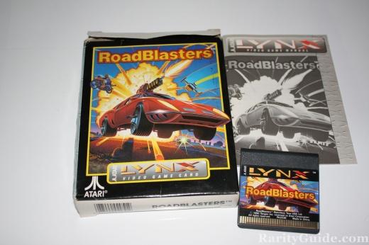 Atari Lynx RoadBlasters Complete
