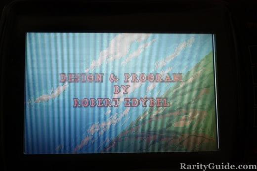 Atari Lynx WarBirds Programmer Credits Screen