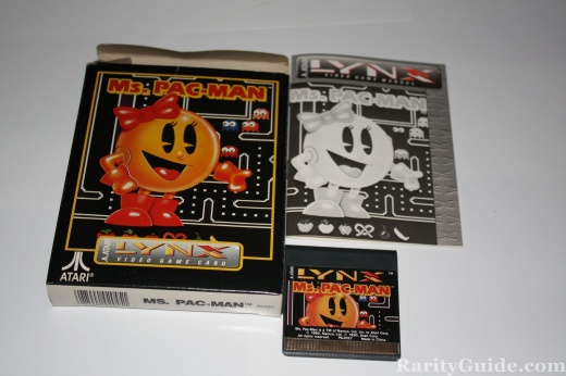 Ms. Pac-Man Complete Game for Atari Lynx