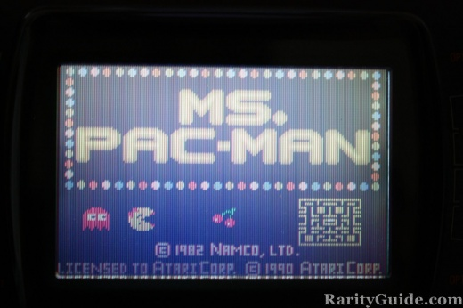 Ms. Pac-Man Intro Screen Atari Lynx