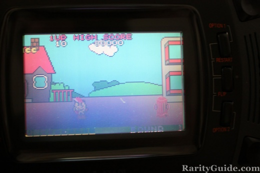 Atari Lynx Pac-Land game screen shot