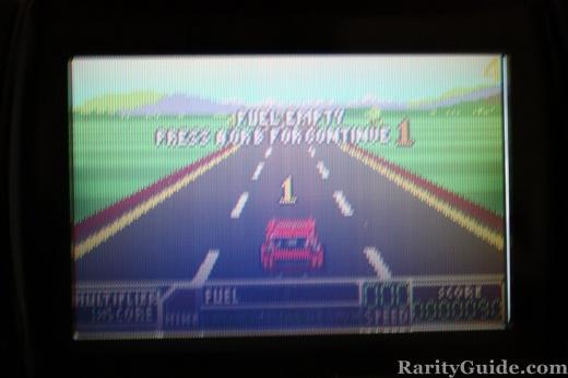 RoadBlasters Atari Lynx Out of Fuel