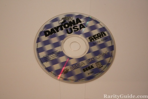 Sega Saturn Video Game Console Daytona USA Game CD