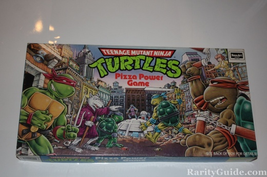 TMNT Pizza Power Board Game Box Milton Bradley 1987