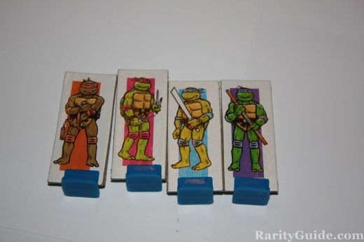 TMNT Pizza Power Game Board Game Character Tokens