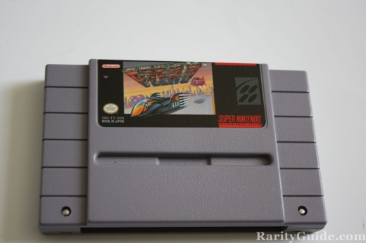 SNES Super Nintendo Entertainment System Cartridge F Zerio