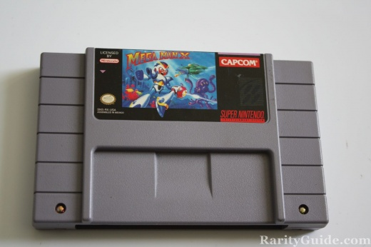 SNES Super Nintendo Entertainment System Cartridge Mega Man X