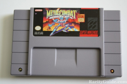 SNES Super Nintendo Entertainment System Cartridge Megal Combat Falcons Revenge