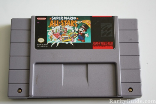 SNES Super Nintendo Entertainment System Cartridge Super Mario All Stars