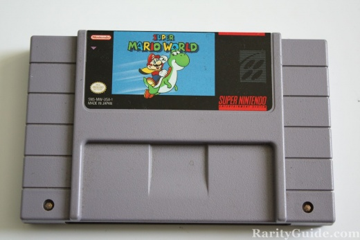 SNES Super Nintendo Entertainment System Cartridge Super Mario World