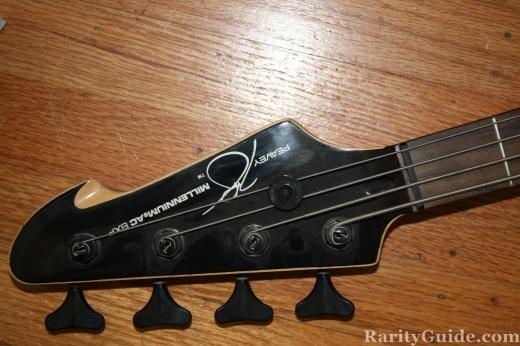 museum bass guitars peavey millenium ac bxp headstock of peavey millenium. Black Bedroom Furniture Sets. Home Design Ideas