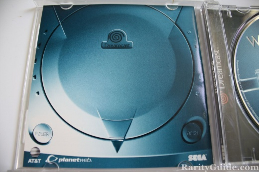 Sega Dreamcast Video Game Console Web Browser 2.0 Box Inside