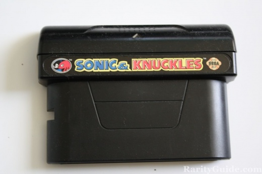Sega Genesis Sonic and Knuckles Video Game Cartridge