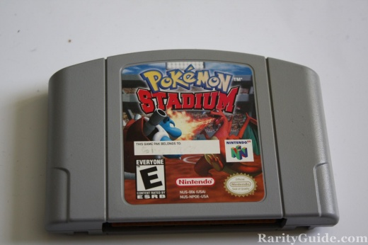 Nintendo 64 N64 Video Game Cartridge Pokemon Stadium