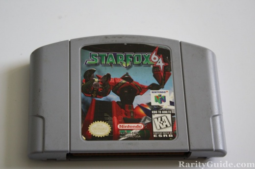 Nintendo 64 N64 Video Game Cartridge Starfox