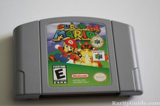 Nintendo 64 N64 Video Game Cartridge Super Mario