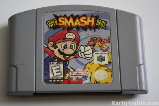 Nintendo 64 N64 Video Game Cartridge Super Smash Bros