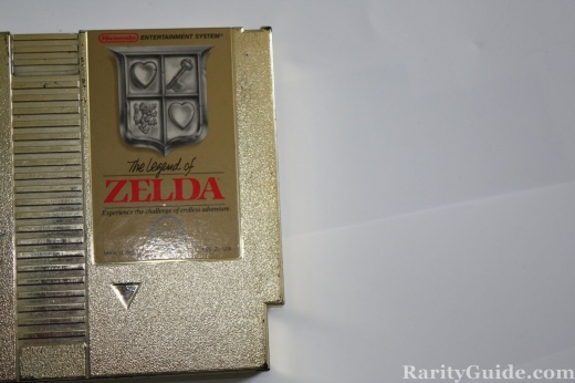 NES Nintendo Entertainment System Legend of Zelda Video Game Cartridge