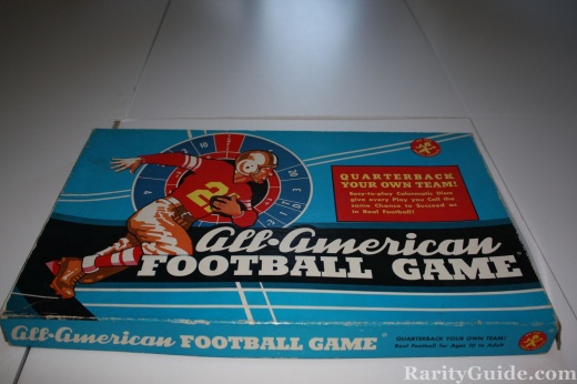 All American Football Game by Cadaco Circa 1961
